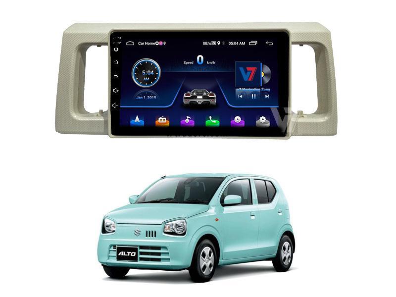 V7 Navigation 10″ Android Screen For Suzuki Alto 2019-2020 Image-1