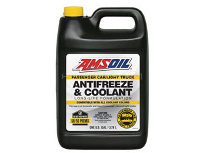 AMSOIL Anti-Freeze 50/50 Mix Coolant - 3.7 Litre Image-1