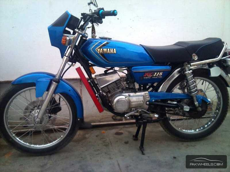 Used Yamaha Rx 115 1988 Bike For Sale In Karachi 112570