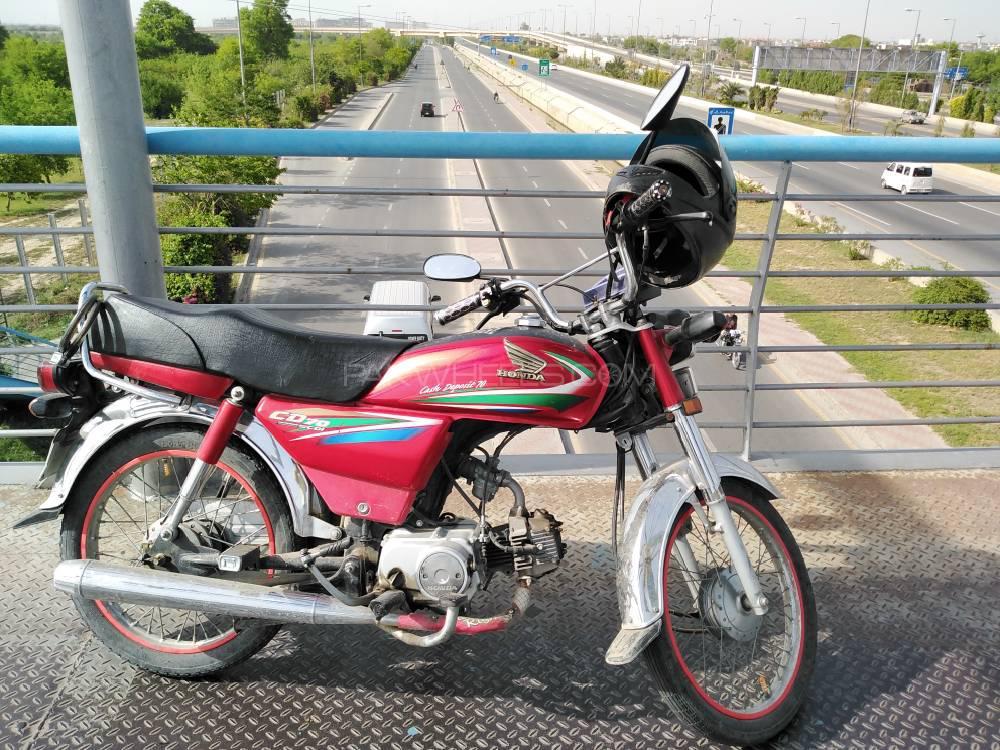 Honda CD 70 - 2016 Dhanno Image-1