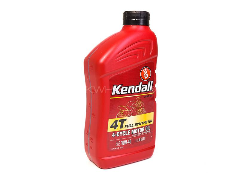 Kendall 4T Fully Synthetic 10W-40 - 1 Litre Image-1