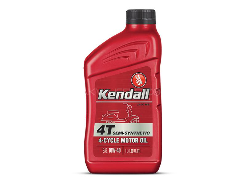 Kendall 4T Semi Synthetic 10W-40 - 1 Litre Image-1