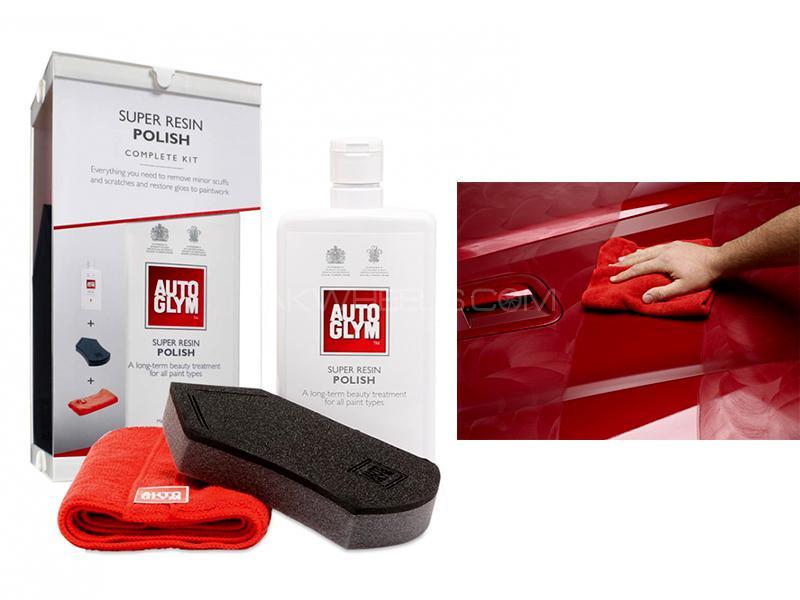 AutoGlym Super Resin Polish Complete Kit - SRPKIT Image-1