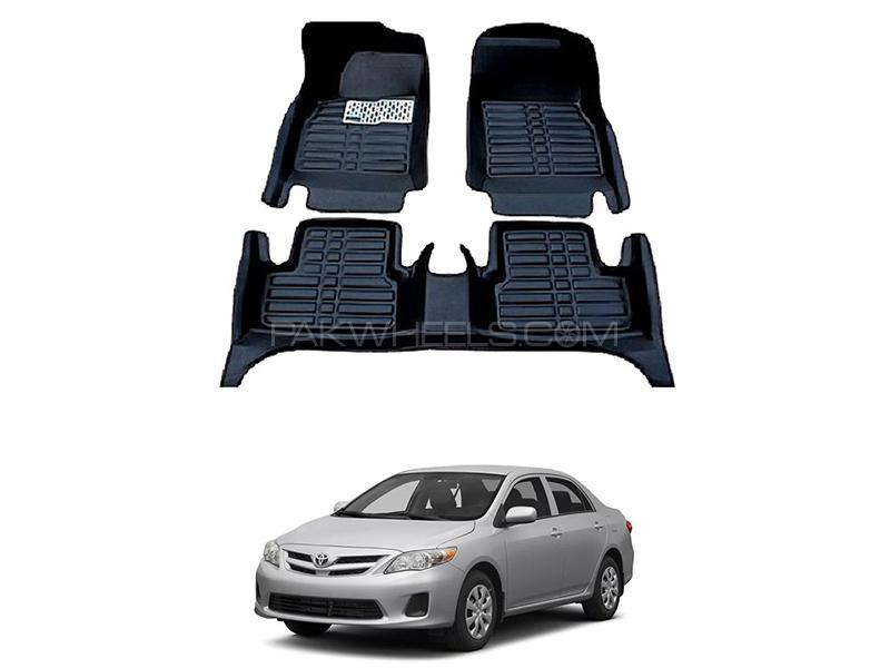 5D Floor Mat For Toyota Corolla 2009-2014 - Black Image-1
