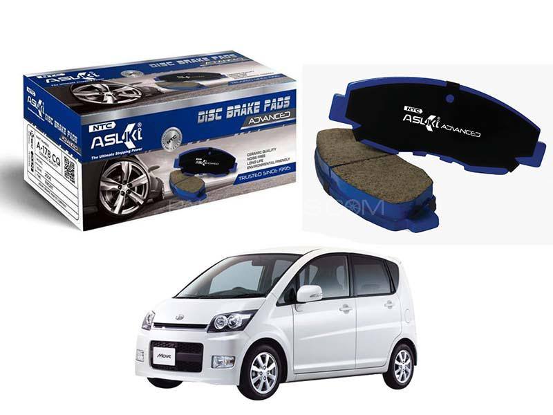 Daihatsu Move 2002-2005 Asuki Advanced Brake Pads Front A-130 AD in Karachi