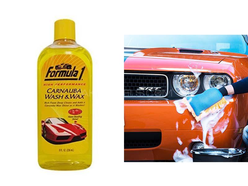 Formula 1 Carnauba Wash and Wax Shampoo (263ml) in Lahore