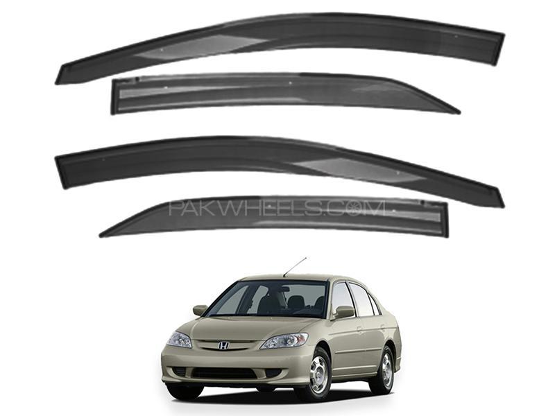 Honda Civic 2002-2004 Sun Visor Air Press - Black  Image-1