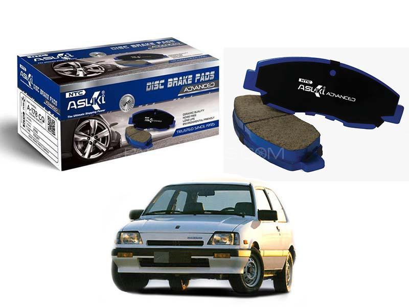Suzuki Khyber 1989-1999 Asuki Brake Pads - A-117 AD Image-1