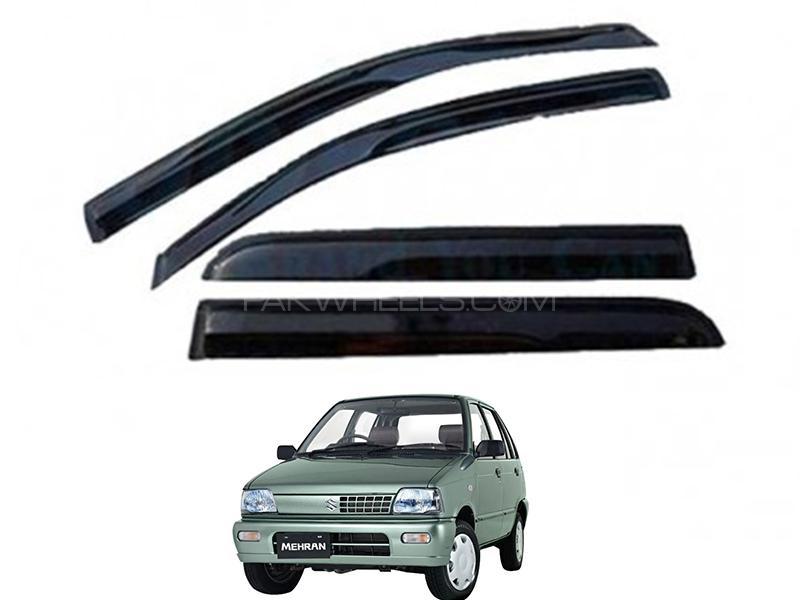 Suzuki Mehran 2012-2019 Sun Visor Air Press - Black  Image-1