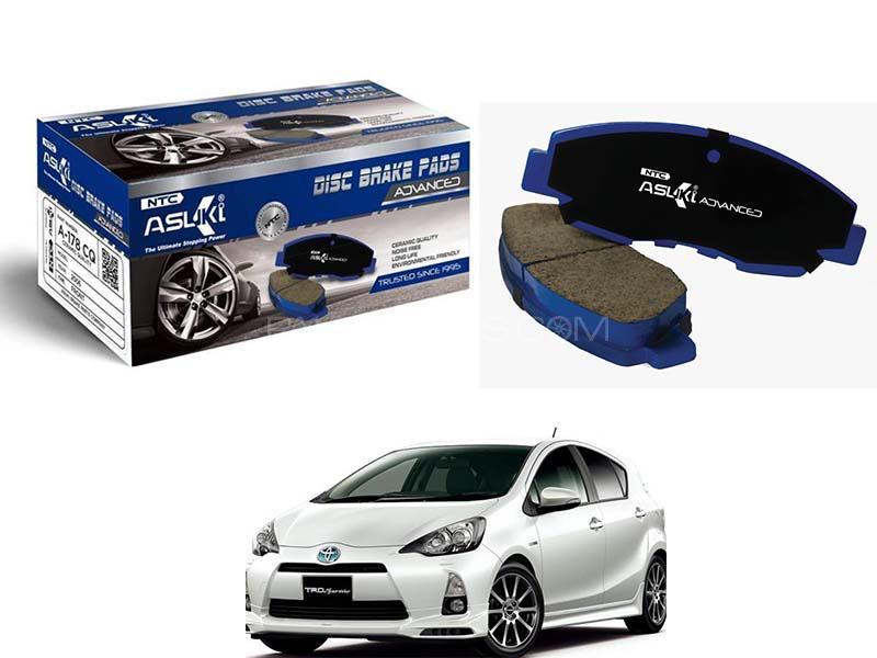 Toyota Aqua 2011-2014 Asuki Advanced Brake Pads Front Ceramic Technology a-75b ad Image-1
