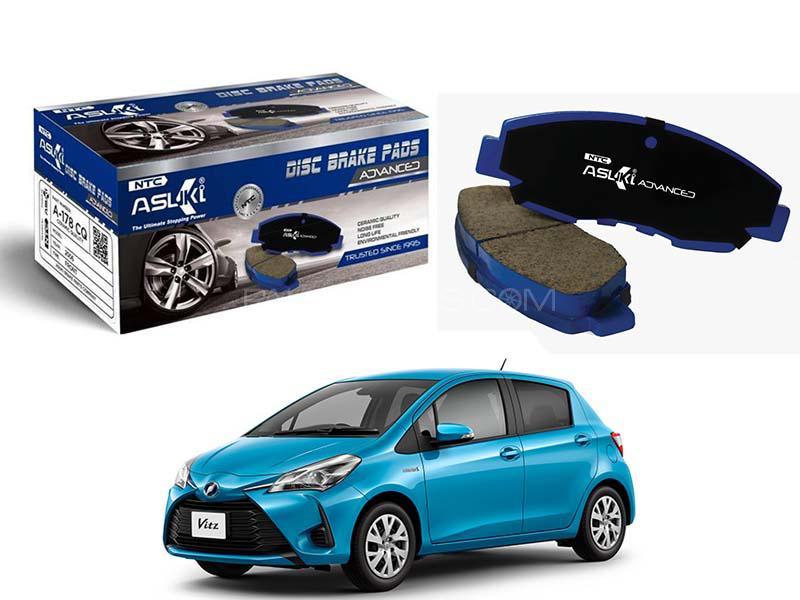 Toyota Vitz 2014-2019 Asuki Advanced Brake Pads Front - A-75B AD Image-1
