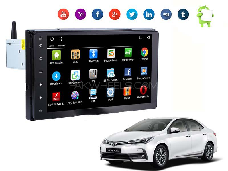 New Corolla Face Lift 2017 Premier Android Head Unit  Image-1