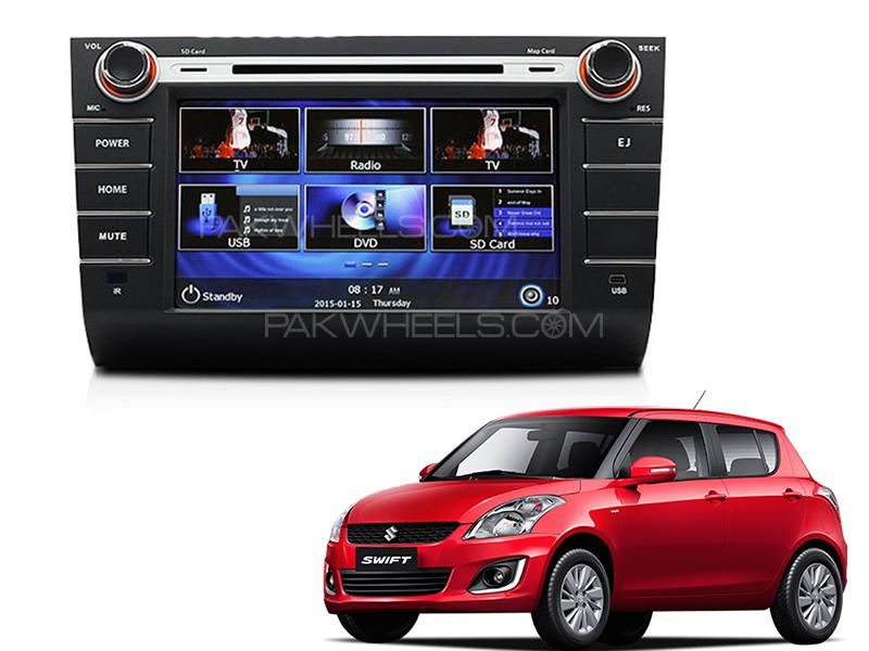 Suzuki Swift Premier HD DVD Head Unit For 2010-2020 in Lahore