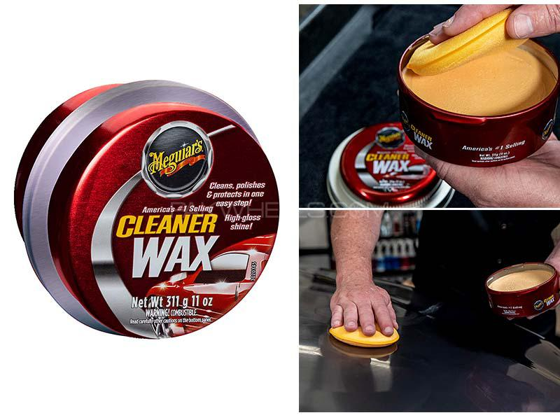 Meguiar's Cleaner Wax Paste 311 g - A1214 Image-1