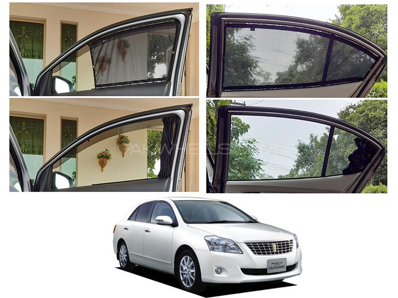 Awra Foldable Fitting Curtain Black Shades For Toyota Premio 2007-2020 in Lahore