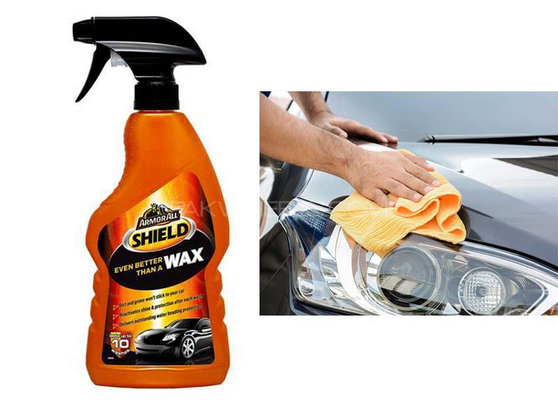 ArmorAll Shield Wax Spray - 500ml Image-1