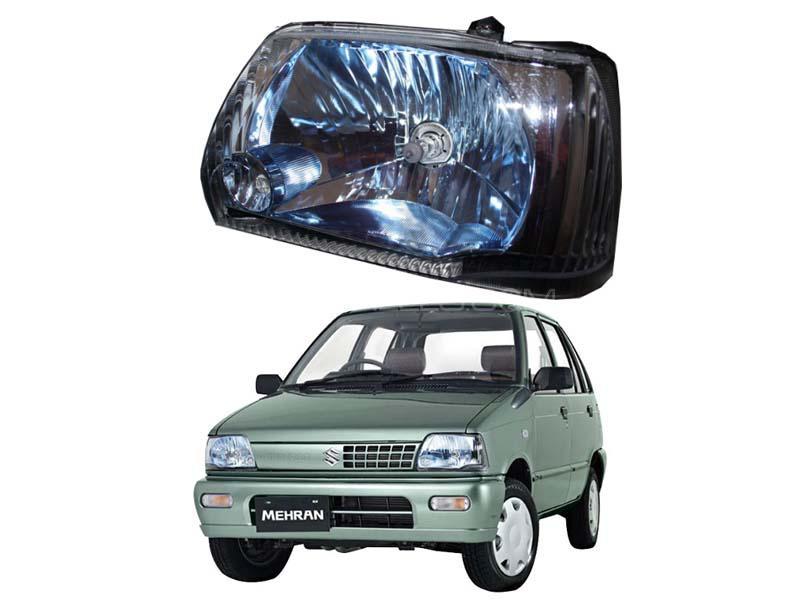 Suzuki Mehran Blue Tint Head Light Set 2012-2019 Image-1