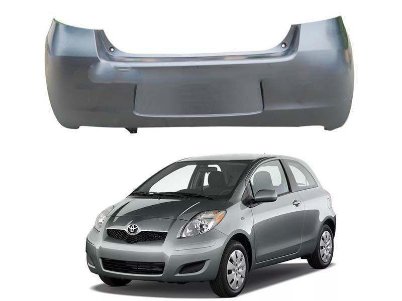 Toyota Vitz Rear Bumper 2005-2011 Image-1