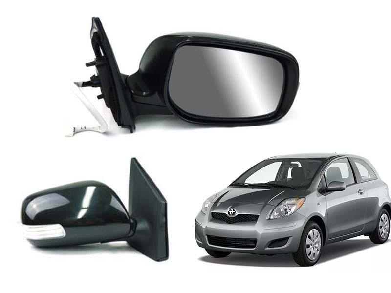 Toyota Vitz Side Mirror With Light RH 2006-2012 Image-1