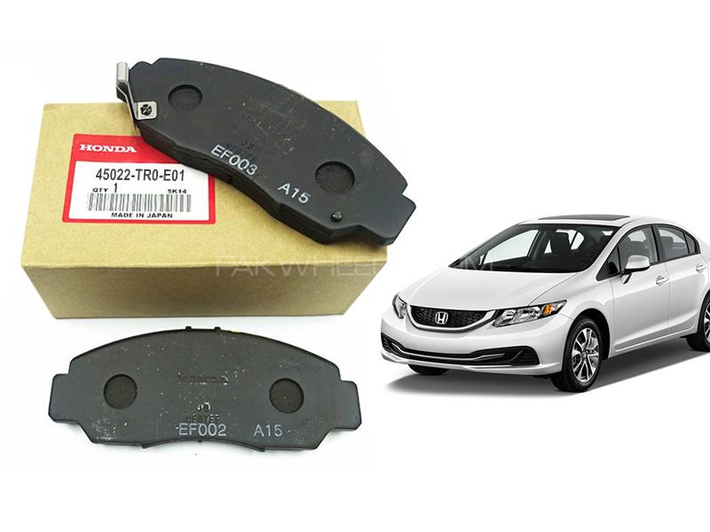 Honda Civic Genuine Front Brake Pad For 2012-2016 - 45022-TR0-E01 Image-1