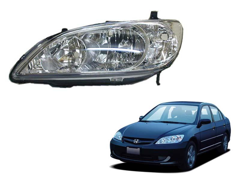 Honda Civic TYC Head Lamp 2004-2005 - 1 Pc LH Image-1