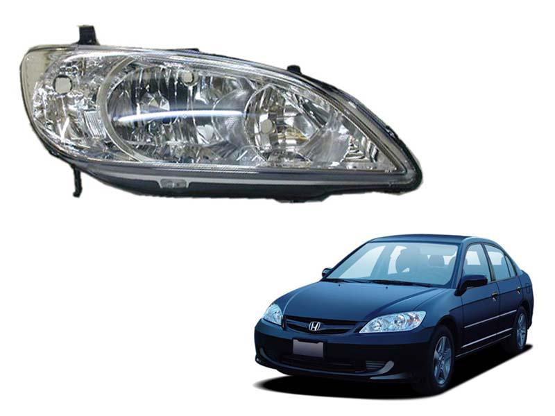 Honda Civic TYC Head Lamp 2004-2005 - 1 Pc RH Image-1