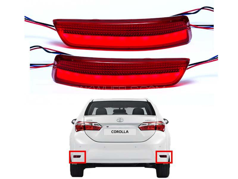 Toyota Corolla Rear Reflector Light - DLAA - 2014-2020 - SL954 Image-1