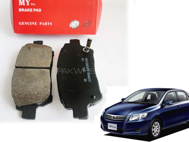 Corolla Axio Front Brake Pads For 2006- 2012 - E12J -  Image-1