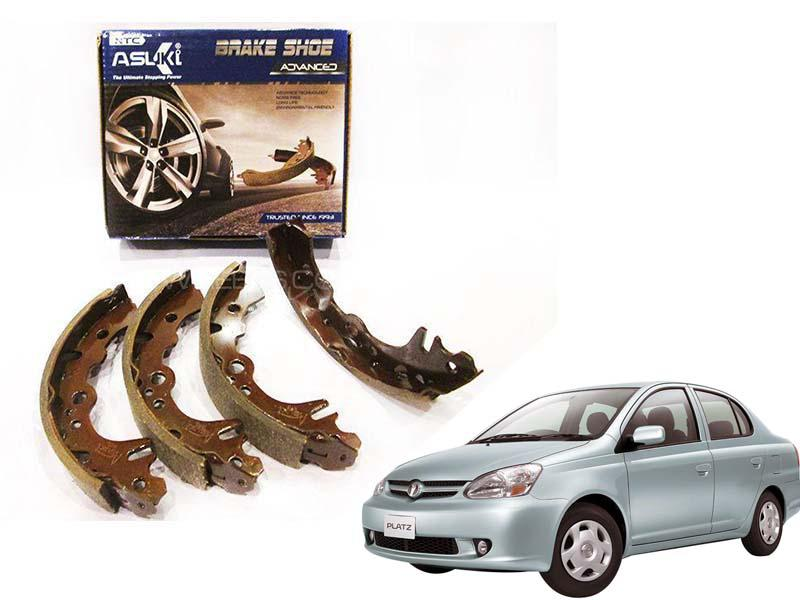 Toyota Platz Asuki Advanced Rear Brake Shoe For 1999-2005 - B-VITZ AD in Karachi