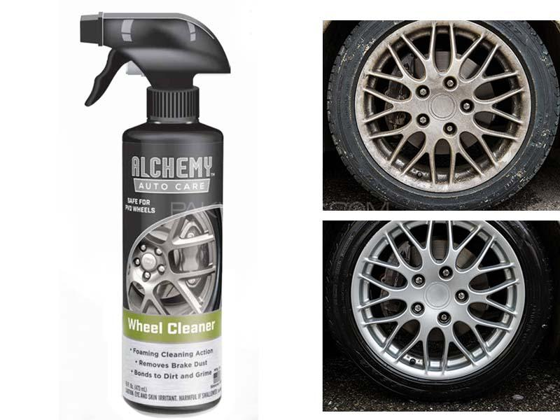 Alchemy Wheel & Tire Cleaner 473ml in Lahore