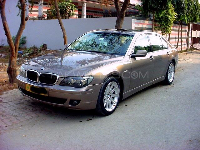 BMW 7 Series 745Li 2008 Image-1