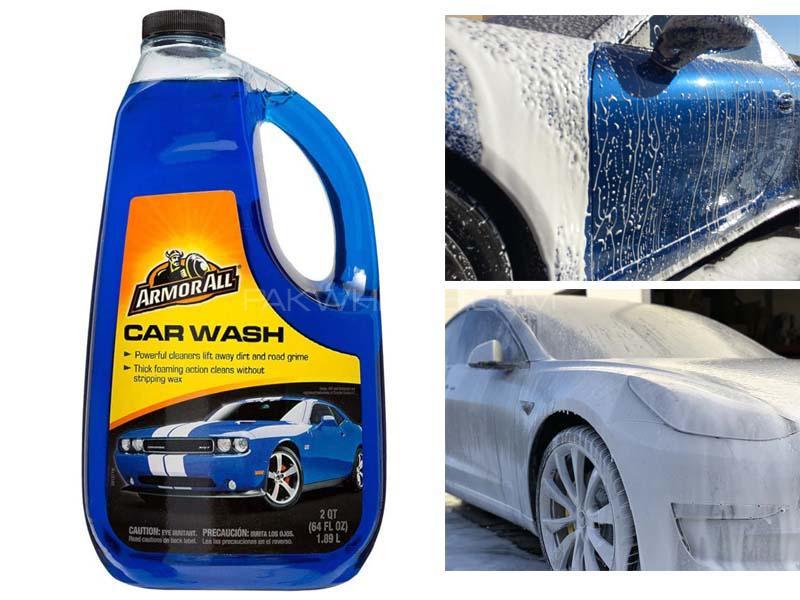 ARMORALL Car Wash Shampoo 64oz/1893ml Image-1