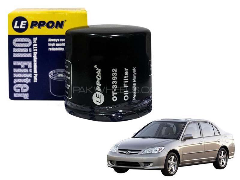 Leppon Oil Filter For Honda Civic 2004-2006 Image-1