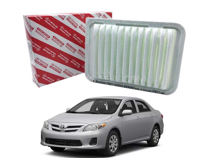 Toyota Genuine Air Filter For Toyota Corolla 2009-2014 - 17801-0M020 Image-1