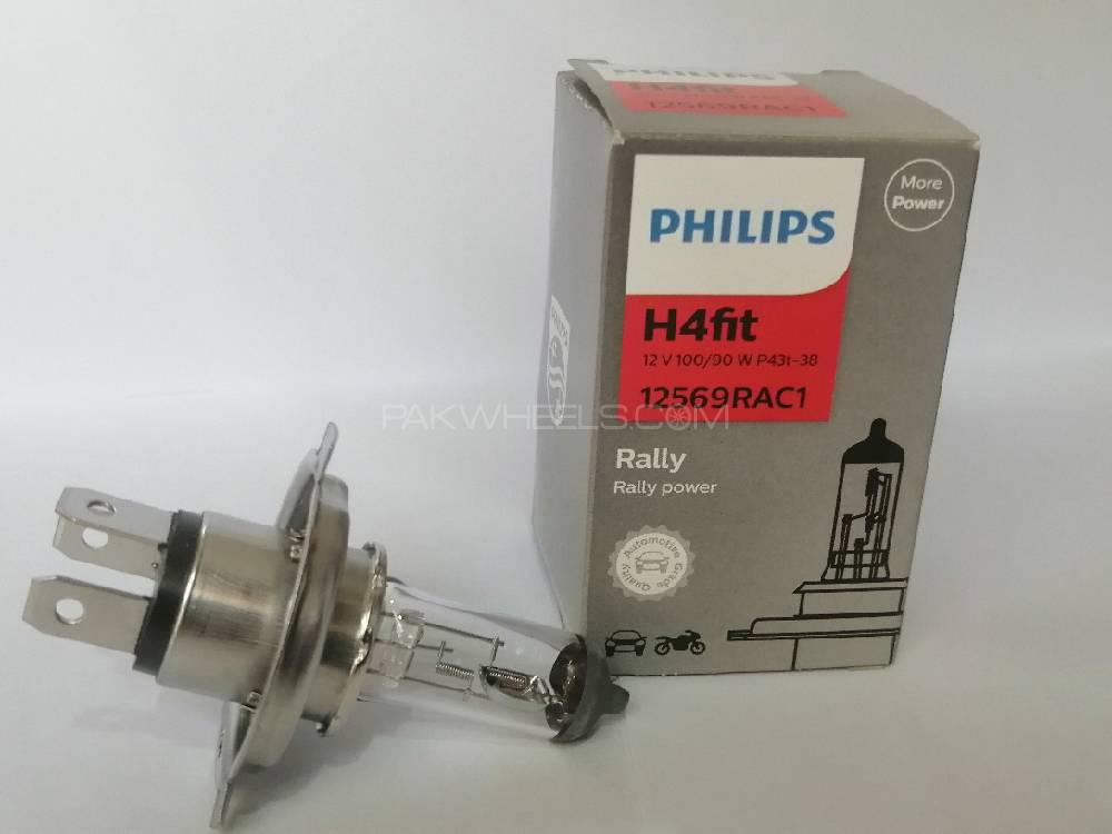Philips Rally Vision 100/90Watts H4 Image-1