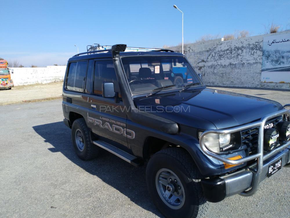 Toyota Prado RZ 3.0D (3-Door) 1992 Image-1