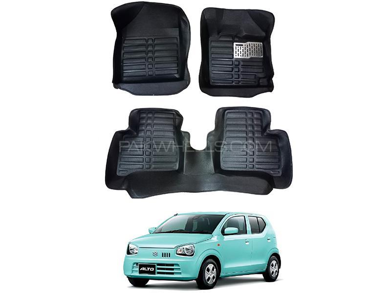5D Custom Floor Mats Black For Suzuki Alto 2019-2020 in Karachi