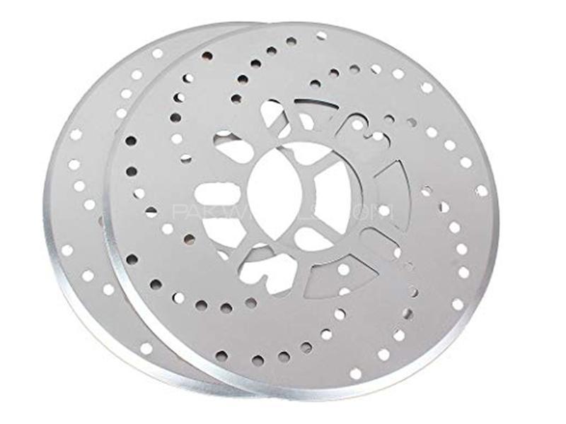 Universal Wheel Disc Brake Cover - Silver in Karachi