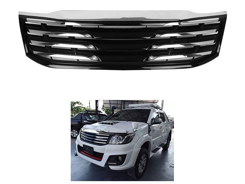 Trd Grill For Toyota Vigo 2005-2015 Chrome Black  Image-1