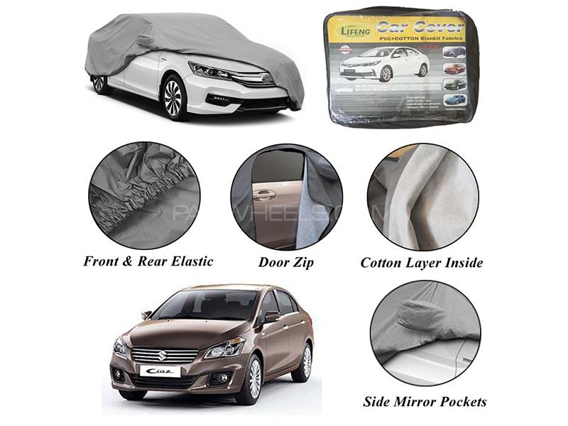 Suzuki Ciaz 2017-2020 Non Wooven Inner Cotton Layer Car Top Cover  in Karachi