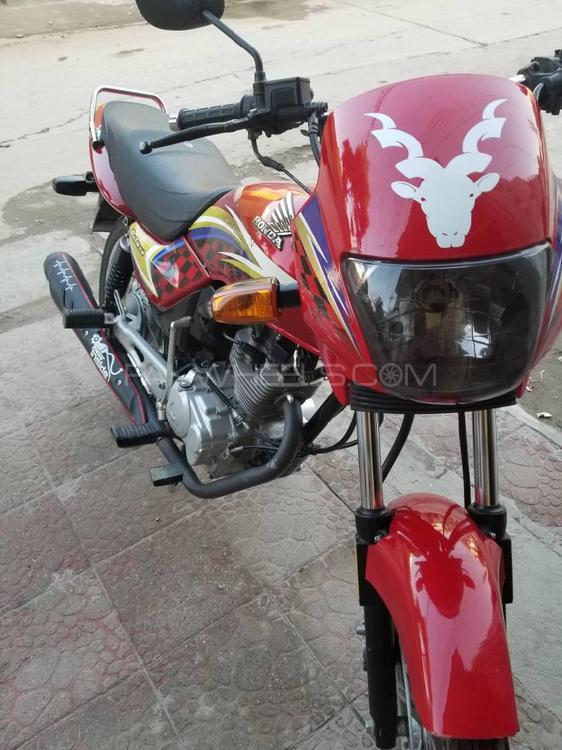 Honda CG 125 Deluxe 2015 Image-1