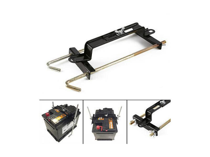 Car Metal Battery Holder Kit Image-1
