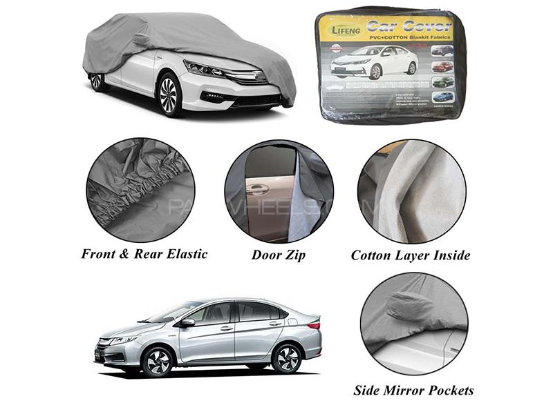 Honda Grace Non Wooven Inner Cotton Layer Car Top Cover  Image-1