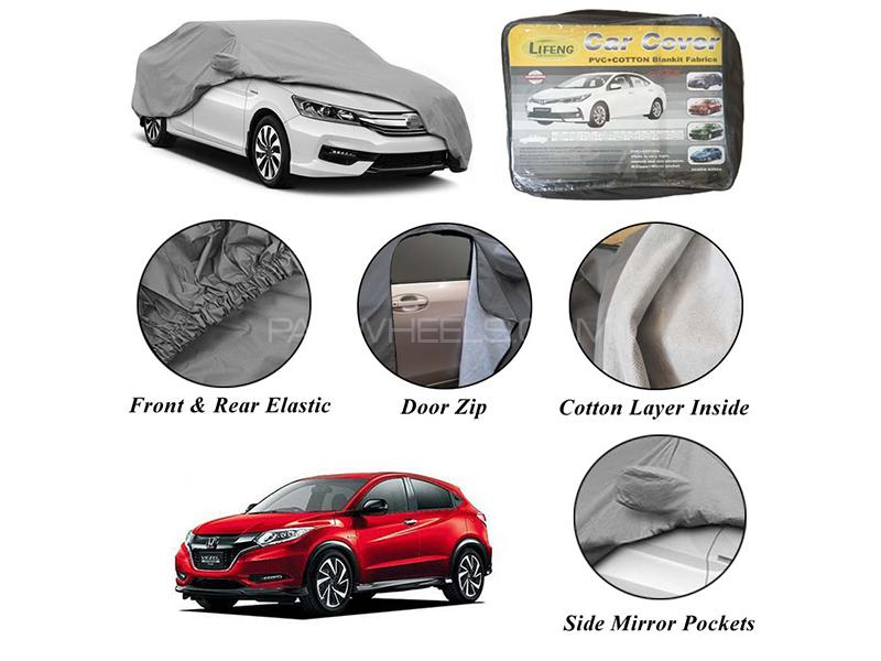 Honda Vezel 2013-2020 Non Wooven Inner Cotton Layer Car Top Cover  Image-1