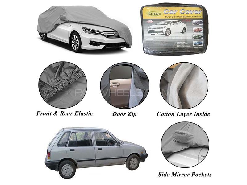 Suzuki Khyber 1989-1999 Non Wooven Inner Cotton Layer Car Top Cover  in Karachi