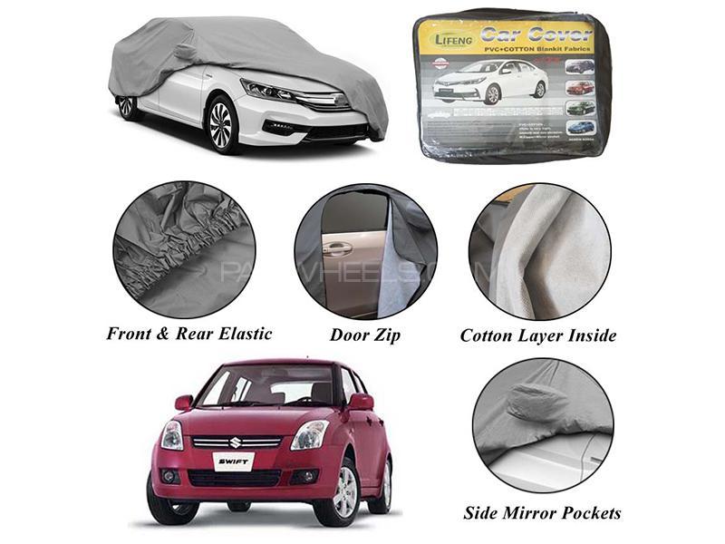 Suzuki Swift 2010-2020 Non Wooven Inner Cotton Layer Car Top Cover  in Karachi