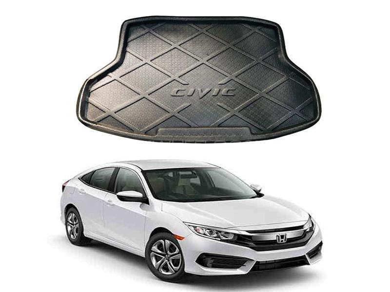 Honda Civic 2016-2020 Trunk Mat Image-1