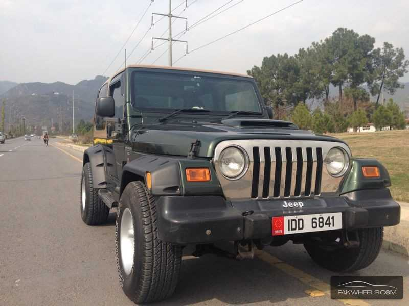 jeep wrangler 2002 for sale in islamabad