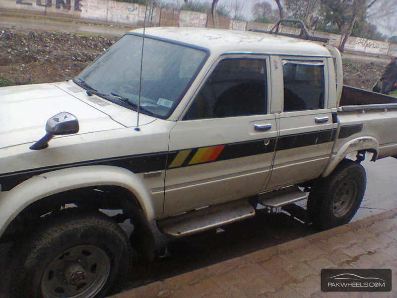 Toyota Hilux 1983 For Sale In Peshawar Pakwheels