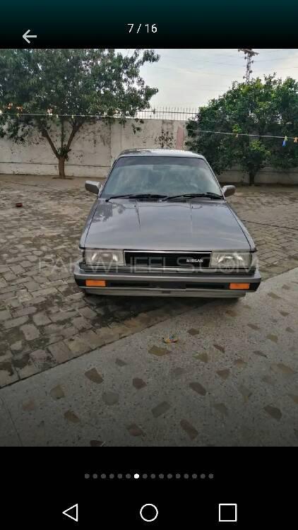 Nissan Sunny EX Saloon 1.6 1986 Image-1
